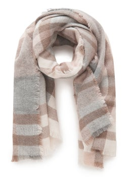 Olivia Check Blanket Scarf by Forever New