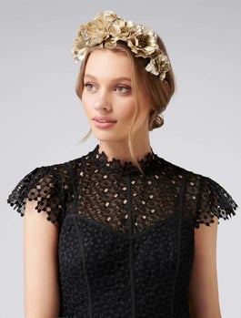 Brooke Flower Crown Fascinator by Forever New