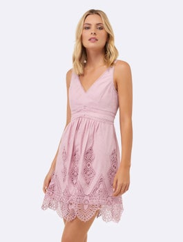 Sunny Embroidered Sundress by Forever New