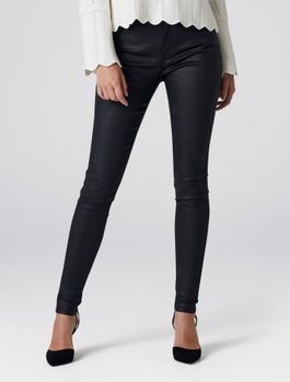 Ivy Petite Mid Rise Full Length Skinny Jeans by Forever New