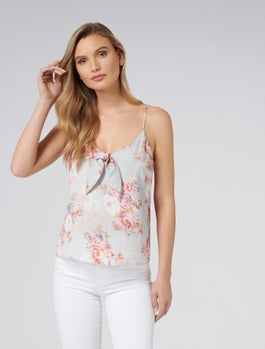 Lexi Tie Front Cami by Forever New