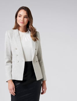 Bianca Wool Blazer by Forever New