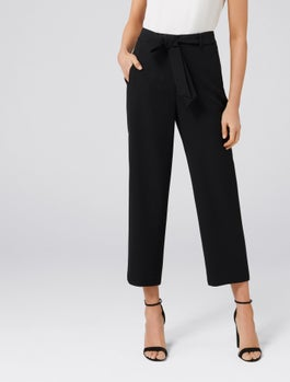 Tania Tie Waist Straight Pants by Forever New