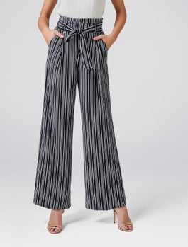 Andie High Waist Wide Leg Pants by Forever New