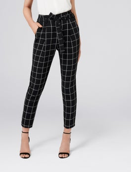 Nikita Tie Waist Tapered Pant by Forever New