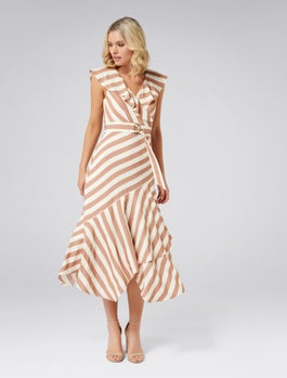 Blair Stripe Dress by Forever New