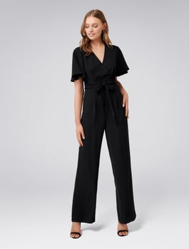 Gia Flutter Sleeve Jumpsuit by Forever New