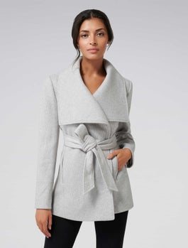 Annabella Wrap Coat by Forever New