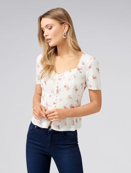 Sonia Button Down Blouse by Forever New