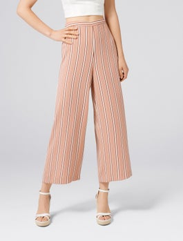 Marley Stripe Culottes by Forever New
