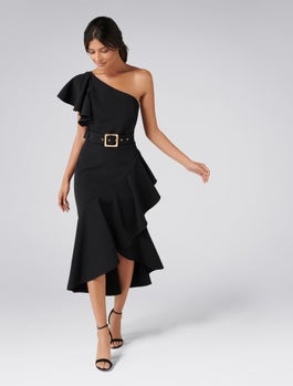 London One Shoulder Dress by Forever New