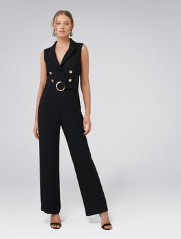 Jayde Tux Jumpsuit by Forever New