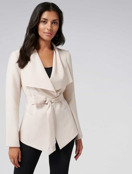 Lesley Waterfall Blazer by Forever New