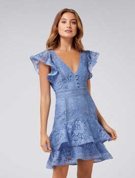 Mae Lace Skater Dress by Forever New