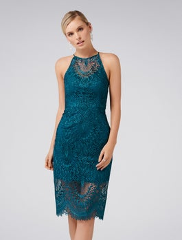 Nadia Lace Pencil Dress by Forever New