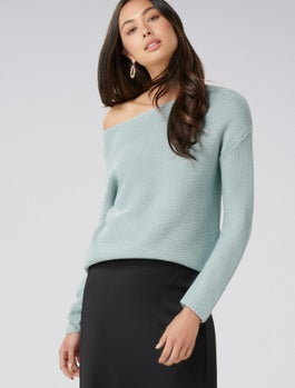 Dawn Boxy Stitch Jumper by Forever New