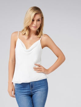 Carrie Cowl Neck Camisole by Forever New
