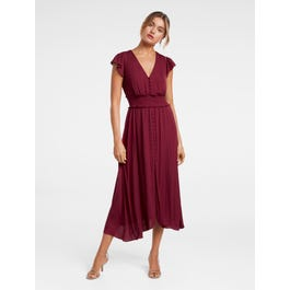 Amayah Button Front Midi Dress by Forever New