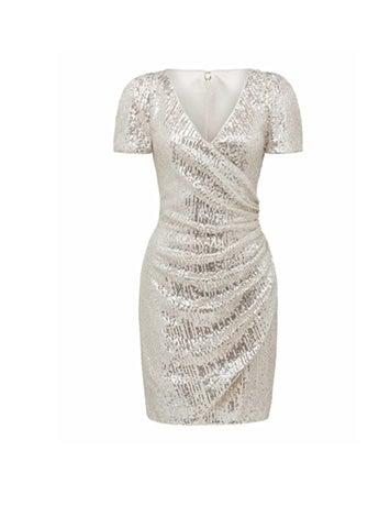 Trixie Draped Mini Dress