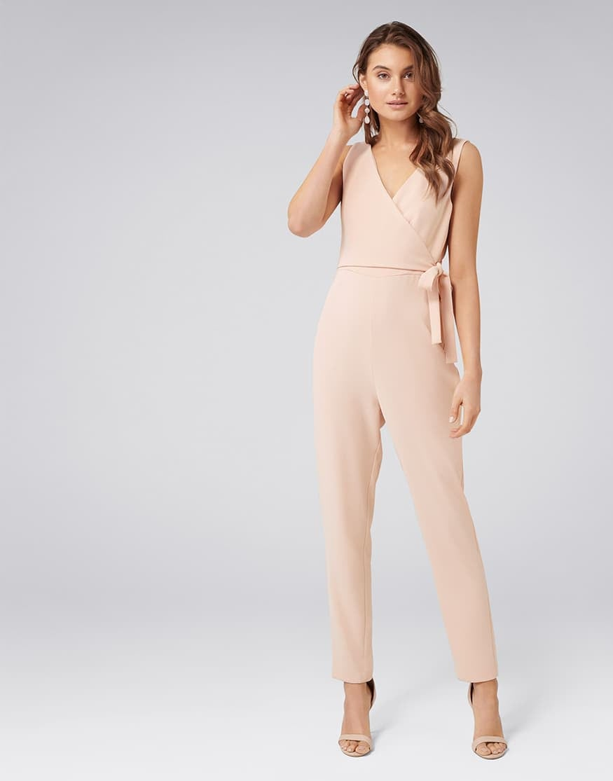 Savannah Wrap Tie Jumpsuit