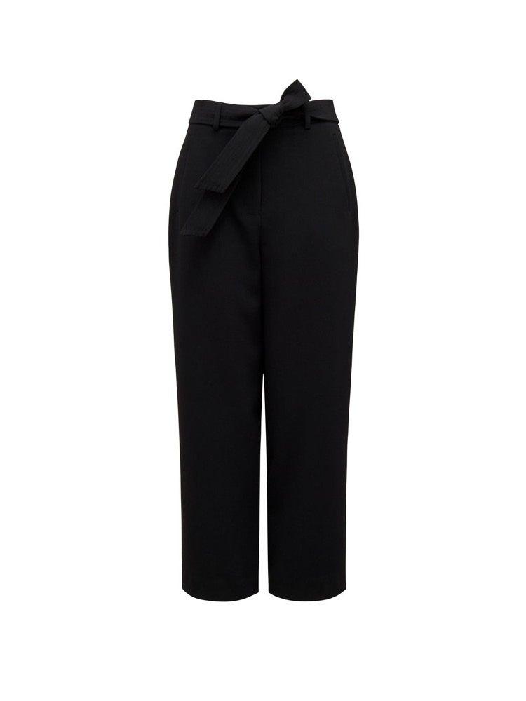 Tania Tie Waist Straight Pants