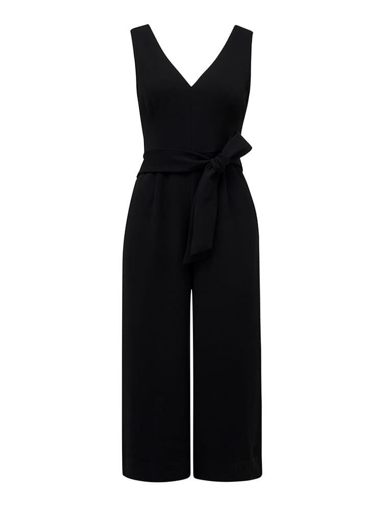 Nicola Petite Belted Waist Jumpsuit
