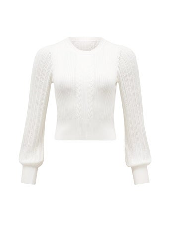 Ellie Crop Knit Jumper
