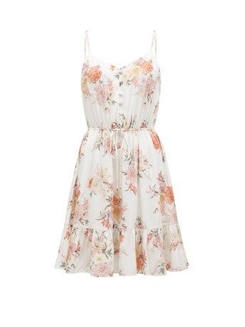 Faye Printed Day Dress