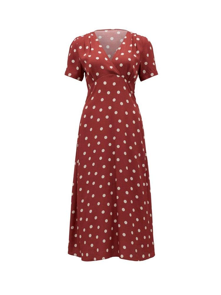 Wendy Ditsy Midi Dress