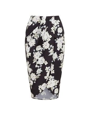 Violet Wrap Skirt