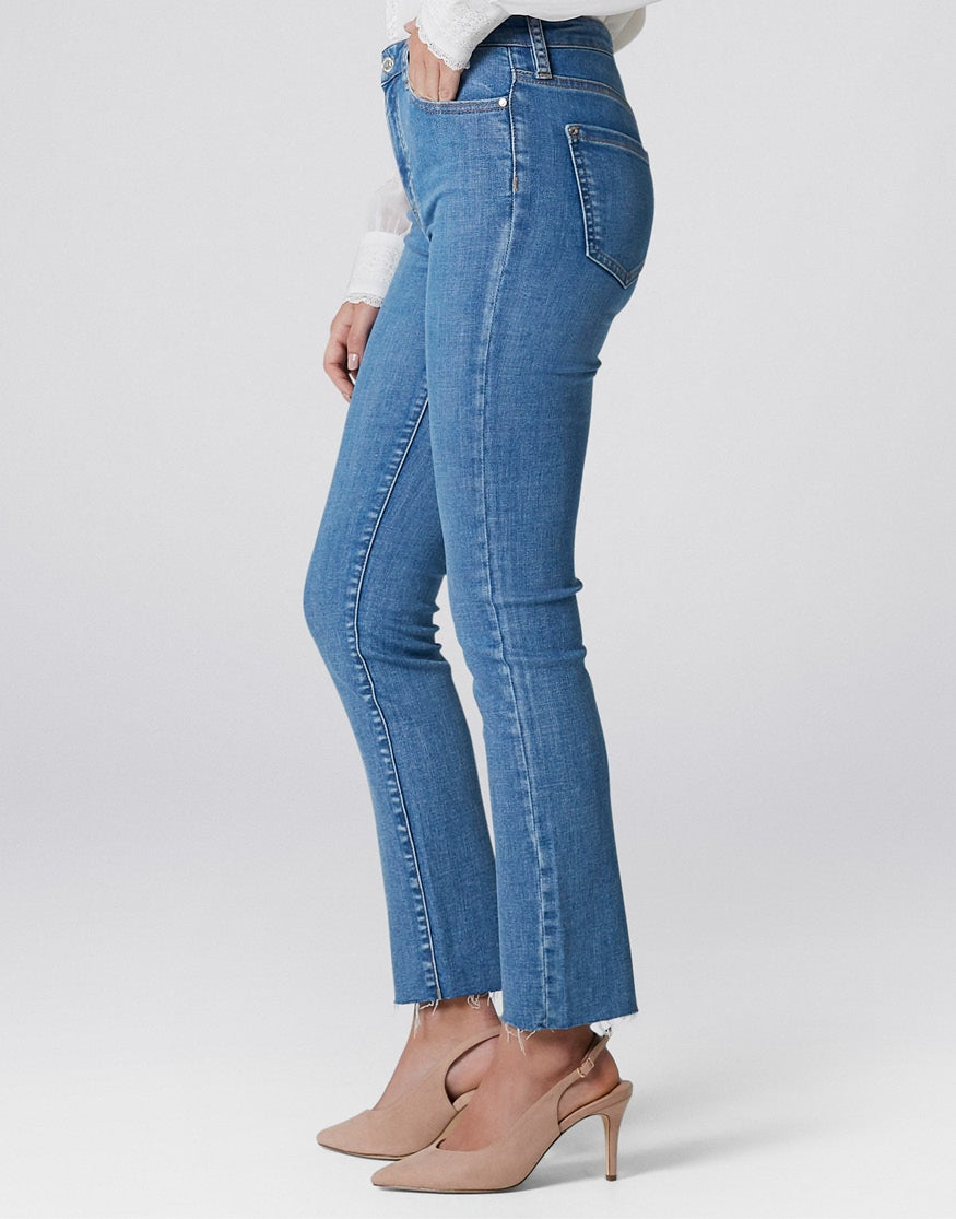 Mid Rise Poppy Ankle Grazer Jeans