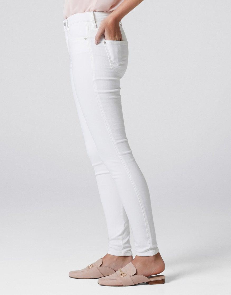 Mid Rise Ivy Full Length Skinny Jeans