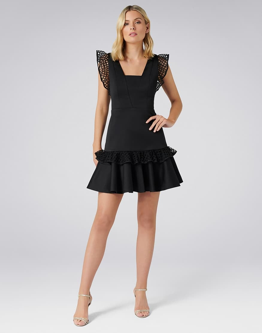 Kady Lace Trim Dress
