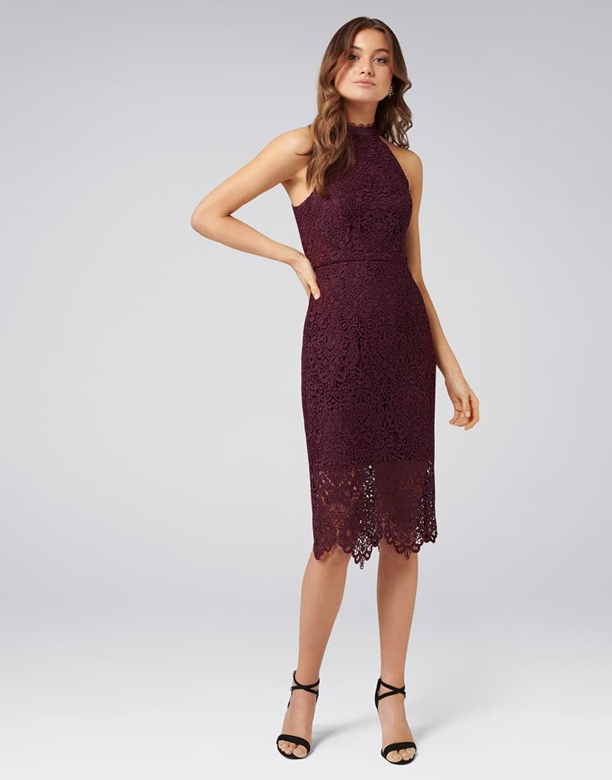 Beverley Lace Pencil Dress