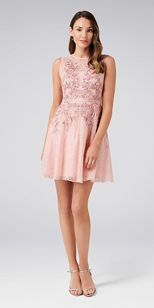 Nikita Embroidered<br />Lace Prom Dress