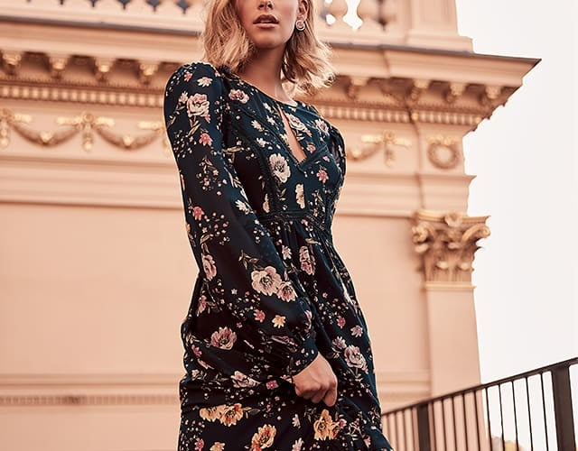 Long Sleeve Dresses for Autumn and Winter