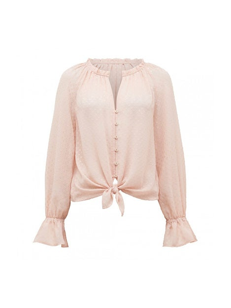 Becky Blouson Sleeve Dobby Shirt