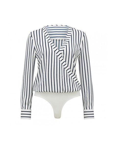 Vienna Wrap Shirt Bodysuit
