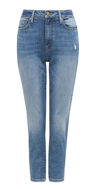 <b>Bridget</b><br />Mid-Rise<br />Boyfriend Jeans