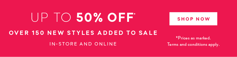New Styles Added to Sale