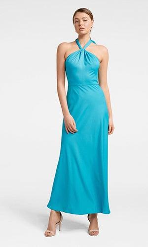 <b>Chen</b><br>Halterneck Gown