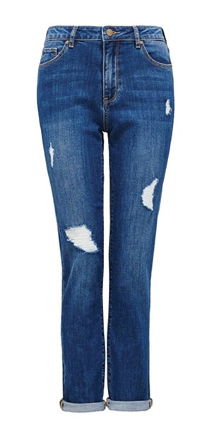 <b>Emmy</b><br />Mid-Rise<br />Girlfriend Jeans
