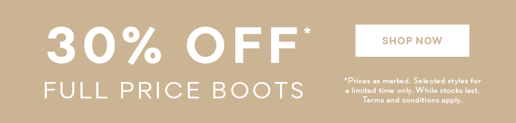Boots 30% off