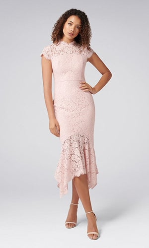 <b>Frankie Petite</b><br>Lace Maxi Dress