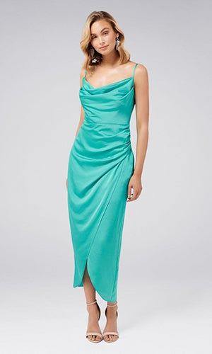 <b>Holly</b><br>Cowl Neck Dress