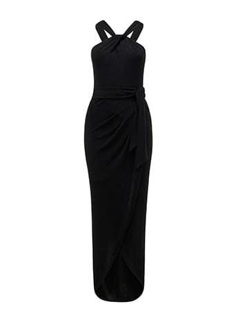Jasmine Glitter Twist Dress
