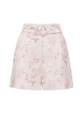 Luca Linen-Blend Shorts