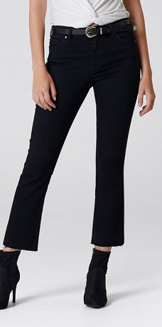 MID RISE STELLA CROPPED KICKFLARE