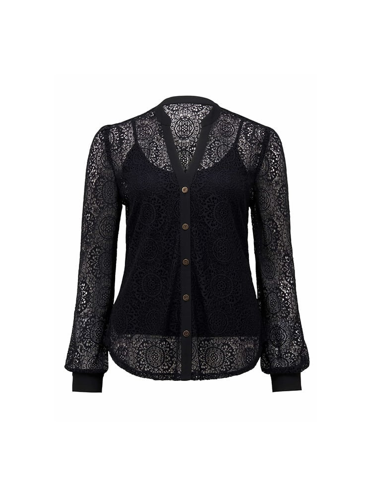 Allysia Lace Shirt