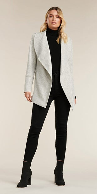 MILA WRAP COAT
